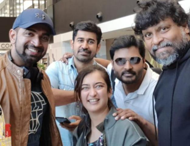 ரஷ்யாவில் படமாகிறது 'அக்னி சிறகுகள்' திரைப்படம்