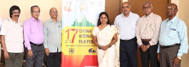 டிசம்பர் 12-19-ல் 17-வது சென்னை சர்வதேச திரைப்பட விழா நடைபெறுகிறது