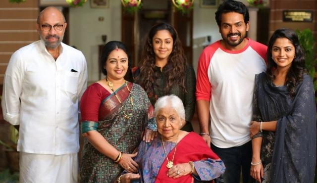 அக்காவாக ஜோதிகாவும், தம்பியாக கார்த்தியும் நடிக்கும் 'தம்பி' திரைப்படம்