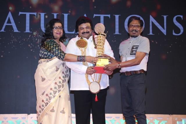 V-4 எம்.ஜி.ஆர்-சிவாஜி அகாடமியின் 34-வது திரைப்பட விருது வழங்கும் விழா..!