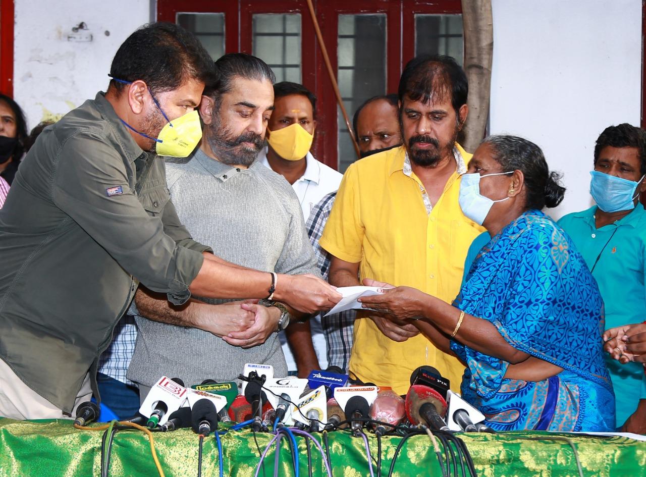 'இந்தியன்-2' படப்பிடிப்பு விபத்தில் இறந்தவர்களுக்கு நஷ்ட ஈடு வழங்கப்பட்டது