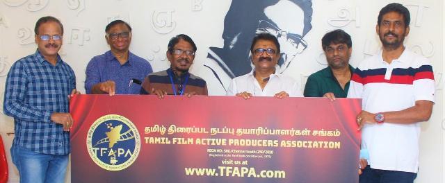 தமிழ் திரைப்பட நடப்பு தயாரிப்பாளர்கள் சங்கத்திற்கு நிர்வாகிகள் தேர்ந்தெடுக்கப்பட்டனர்..!