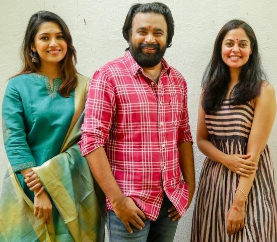 சசிகுமார்-பிந்து மாதவி-வாணி போஜன் நடிக்கும் 'பகைவனுக்கு அருள்வாய்' திரைப்படம்