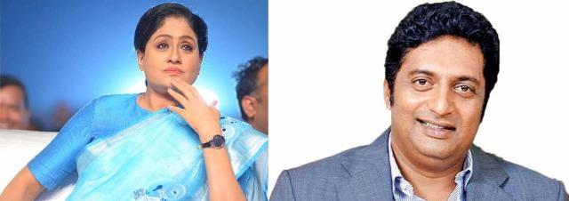 நடிகர் சங்கத் தேர்தலில் பிரகாஷ்ராஜ்-விஜயசாந்தி மறைமுக மோதல்..!